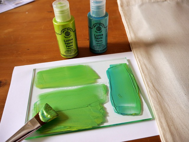 mix shades of green