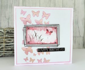 layered stamping technique