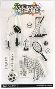 Sports fun stamp set