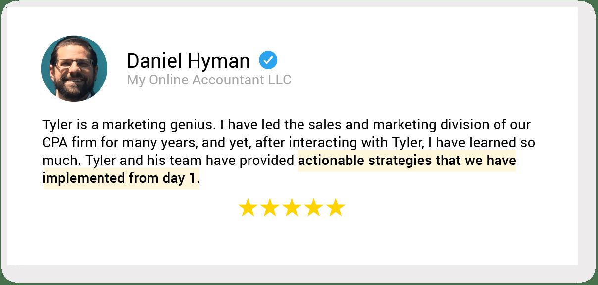 01. testimonial 25 Daniel Hyman