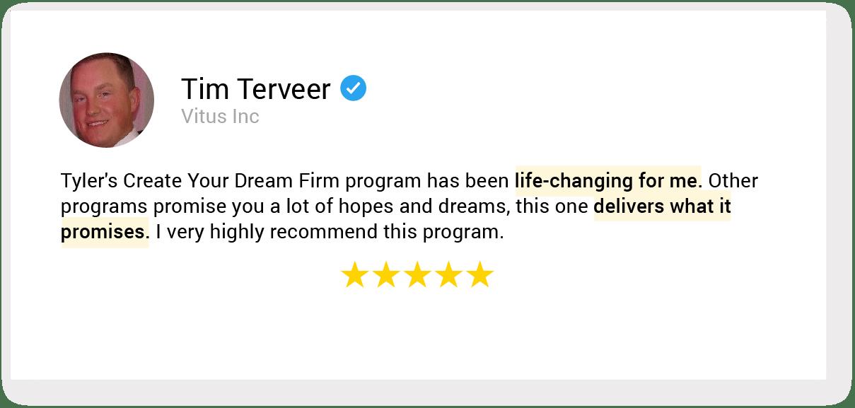 01. testimonial 43 Tim Terveer