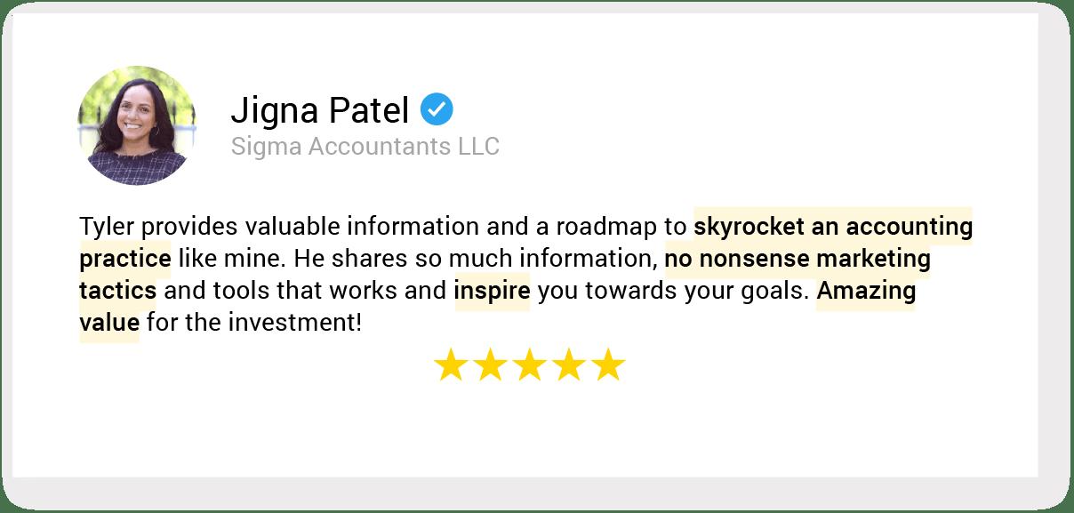 01. testimonial 46 Jigna Patel