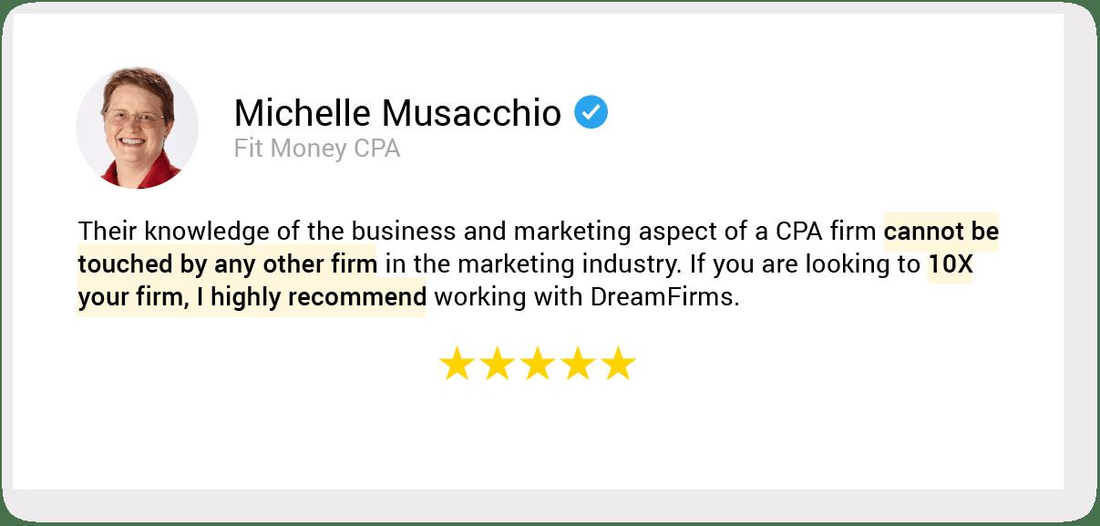 01. testimonial 47 Michelle Musacchio