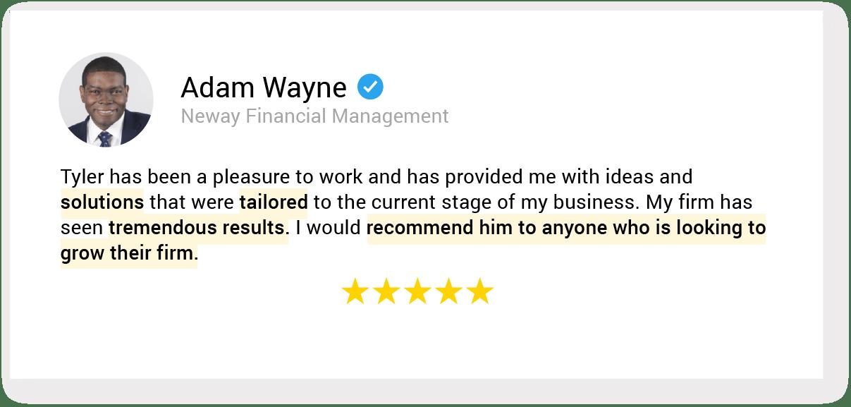 01. testimonial 48 Adam Wayne