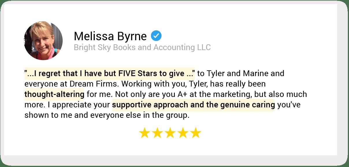 01. testimonial 59 Melissa Byrne