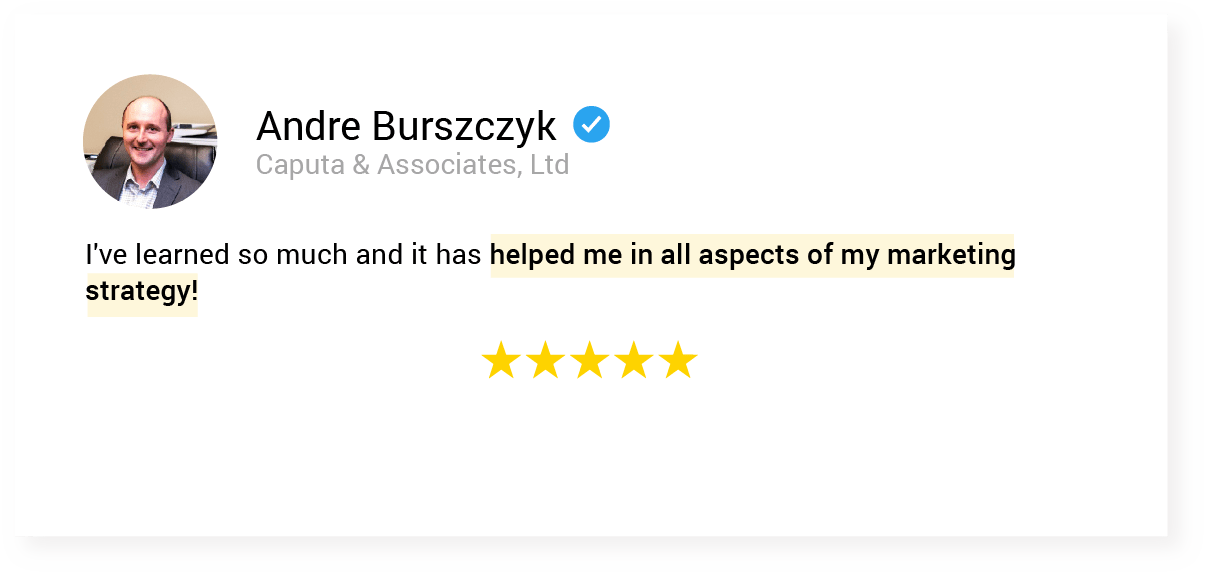 01. testimonial 9 Andre Burszczyk
