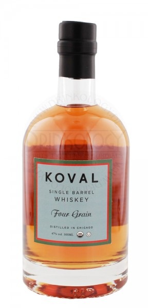 Picture shown is for the Koval Single Barrel Four Grain Whiskey