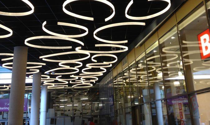 Almere Shopping Centre Bespoke Acrylic Lighting