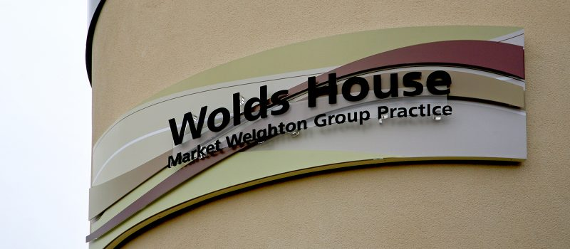 Wolds House Acrylic Outdoor Signage