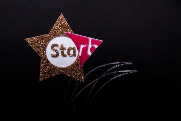 RB Star Awards Acrylic Trophy