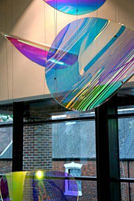 Ron Dearing UTC Artwork Installation
