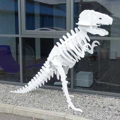acrylic dinosaur ino-plaz car park