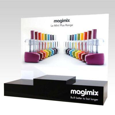 magimix acrylic display