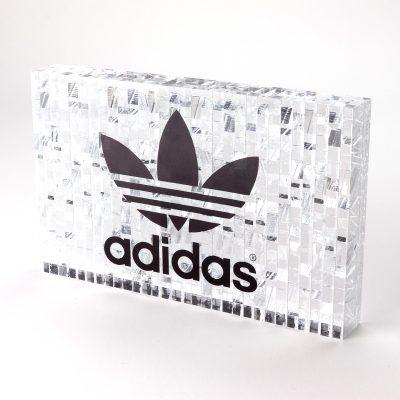 Adidas Acrylic Branding Block