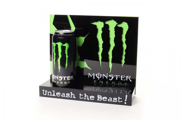 monster energy green banner