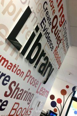 Neasden Library Wall - Close