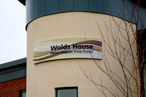 wolds house sign