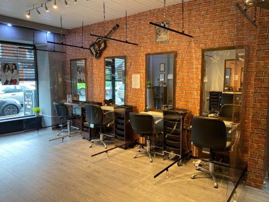 Covid-19 Protective Screens for Elegance Hair Salon - 6