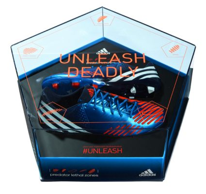Adidas Predator Blue Acrylic Presentation Box