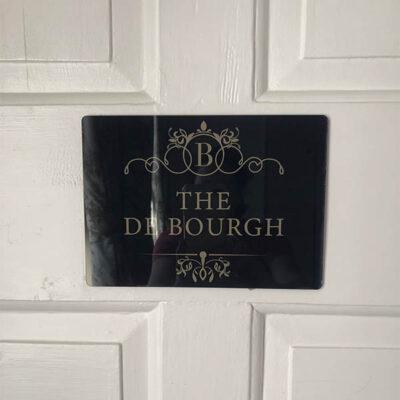 Bardney Hall - Door Sign