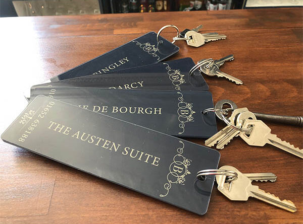Bardney Hall - Group of Key Fobs 2