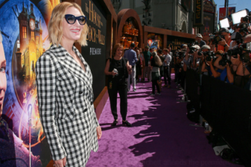 Cate Blanchett wearing suits for her movie premiers