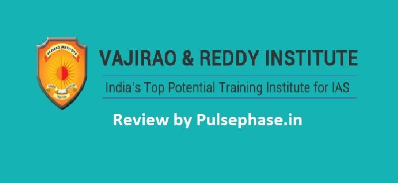 Vajiram and Reddy IAS Coaching Review