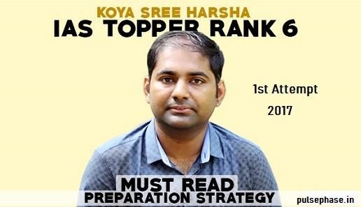 Koya Sree Harsha - IAS Toppers Success Story