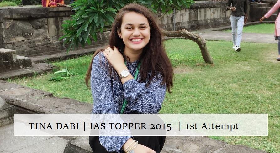 Tina Dabi's IAS Preparation Tips