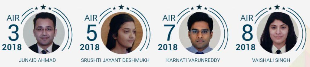 Rau's IAS Toppers 2018