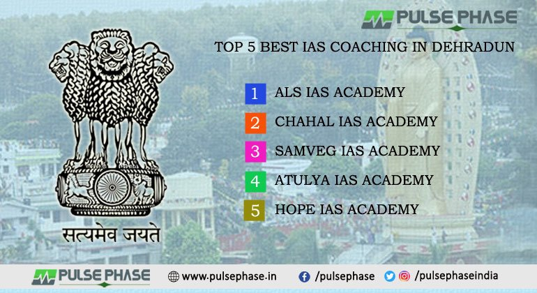 Top 5 Best IAS Coaching in Dehradun