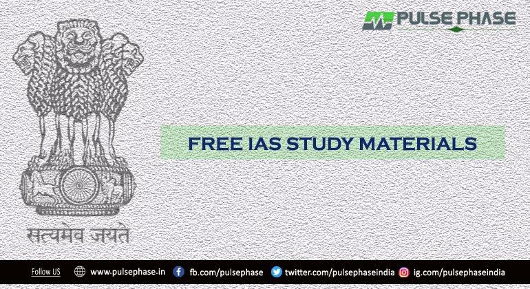 IAS Study Materials