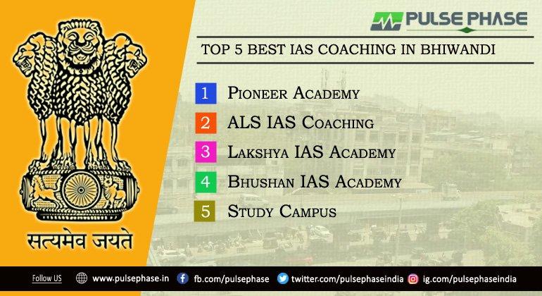 Top 5  IAS Coaching In Bhiwandi