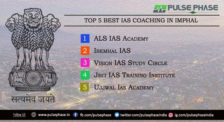 Top 5 IAS Coaching in Imphal