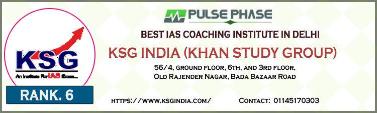 KSG India (Khan Study Group) Delhi