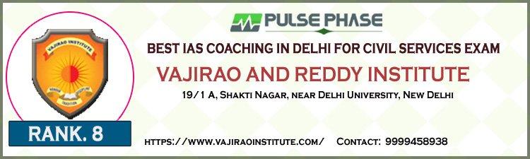Vajirao and Reddy IAS Institute Delhi