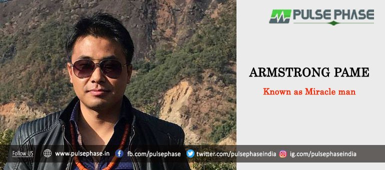 Armstrong Pame - one of the  Top 10 IAS Officers in India