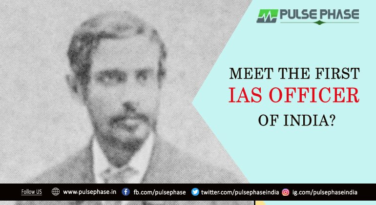 who was the first IAS officer of India