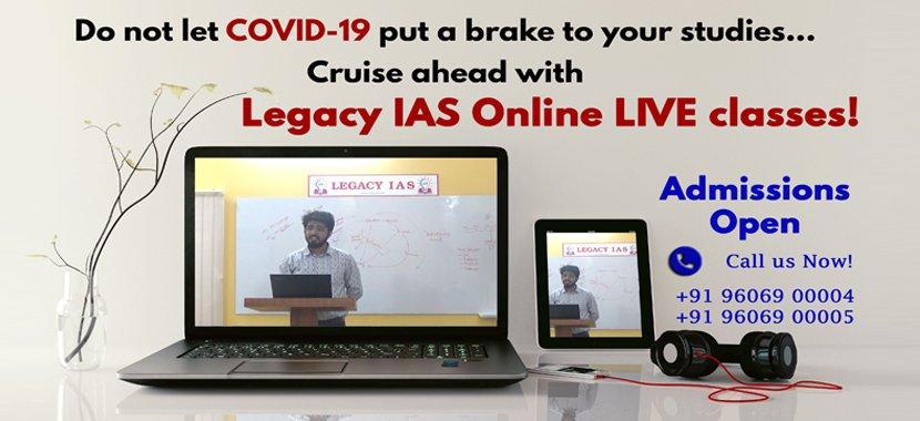 Legacy IAS online Coaching