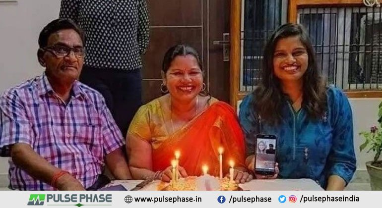 IAS Pratibha Verma with her Family