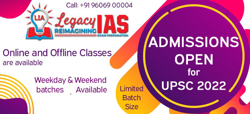 Legacy IAS for UPSC Preparation