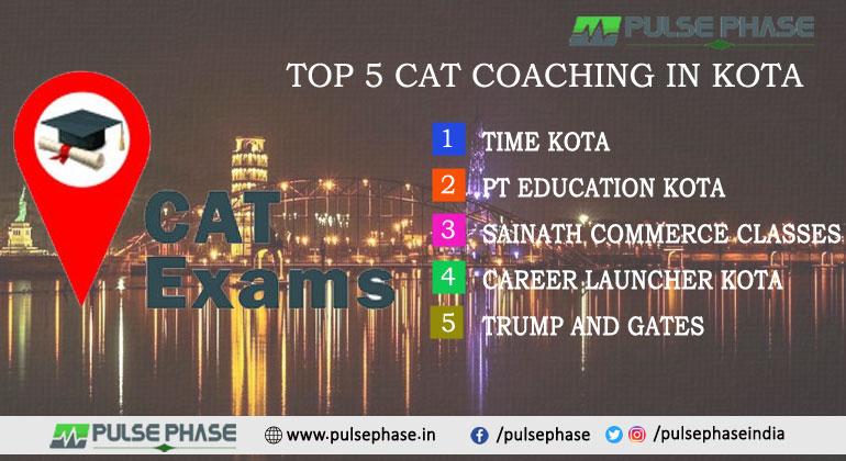 Top 5 CAT Coaching in Kota