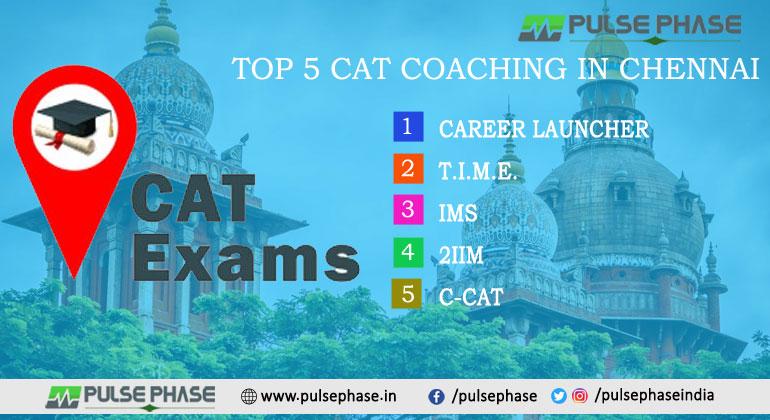 Top 5 CAT Coaching in Chennai