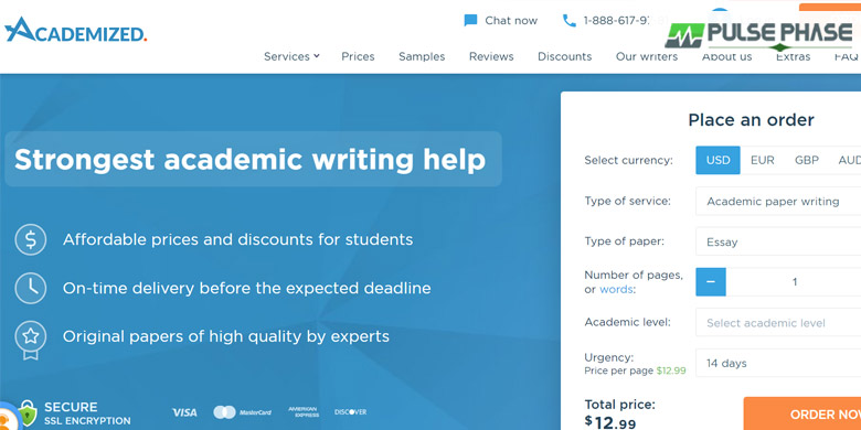 Academized Writing Services