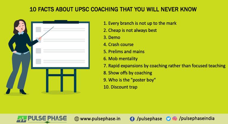 10 Fact About UPSC Coaching