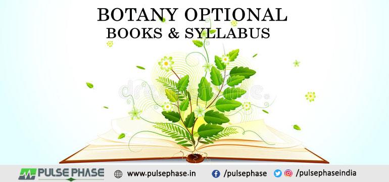 Botany Optional Books and Syllabus