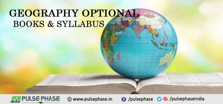 Geography Books & Syllabus for UPSC