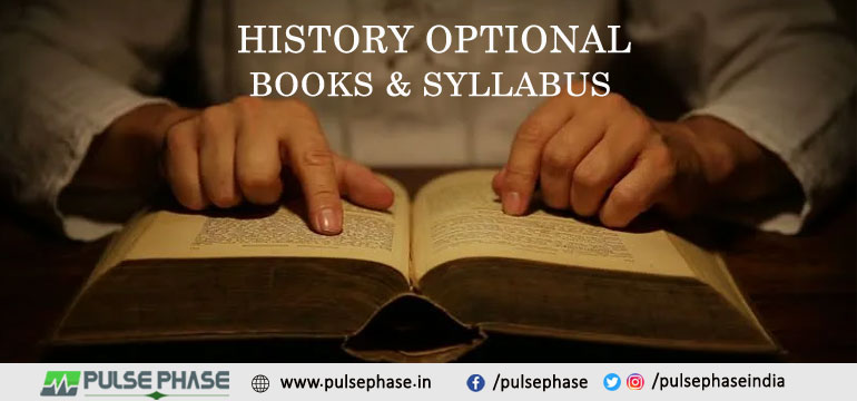 History Optional Books & Syllabus