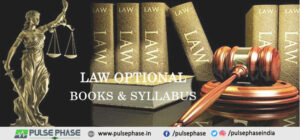 Law Optional Books and Syllabus for UPSC Exam