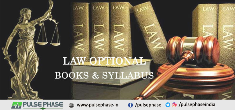 Law Books and Syllabus for UPSC
